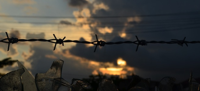 barbed wire poetry Sonya Kassam