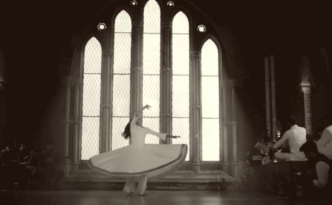 sufi lady dancing
